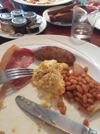 Widbrook Grange : Cooked breakfast