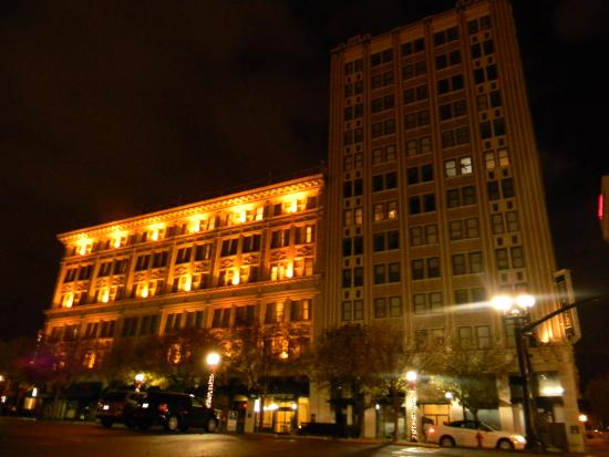 Homewood Suites Nashville Downtown : From Parking Lot on Church St