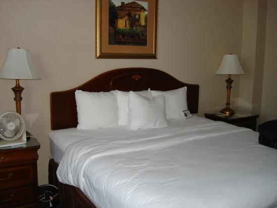 Park Place Hotel : Super comfortable bedding