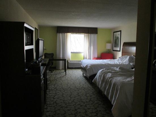 Hilton Garden Inn Rochester/Pittsford : Very Spacious Rooms