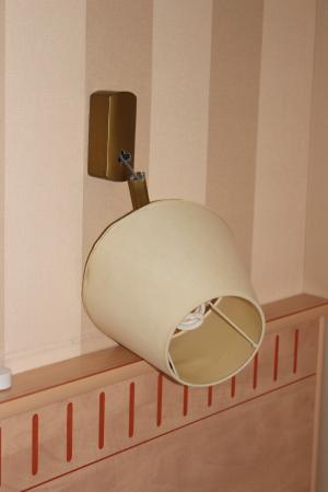 Hotel Gerando: Lamp kapot