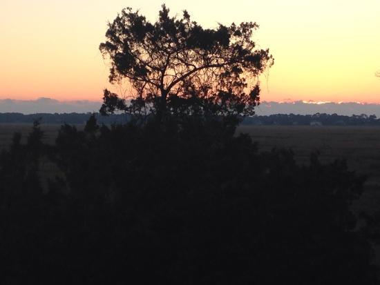 Sea Palms Resort & Conference Center: Sunrise over the marsh