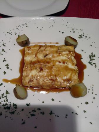 Tasca la Monteria : Goat cheese tapa