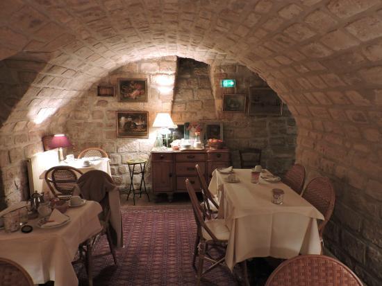 Hotel Le Saint Gregoire: sala do café da manhã