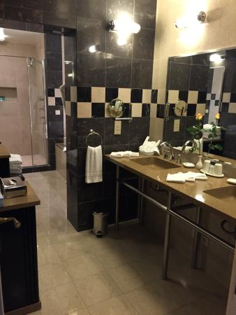 Salle de bain, Jacuzzi, suite présidentielle Roosevelt - Photo de ...