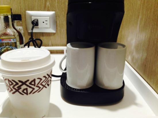 Small Coffee Maker - Picture of Platinum Yucatan Princess All Suites & Spa Resort, Playa del ...