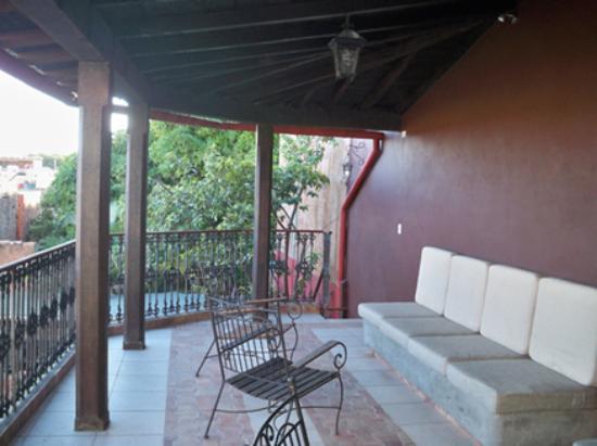 Hostal Maria y Enddy: terrace