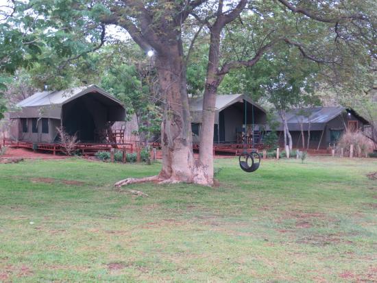 Prana House & Prana Tented Camp Zambia: Prana Tented camp