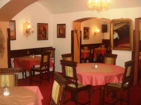 Hotel Vysehrad: столовая