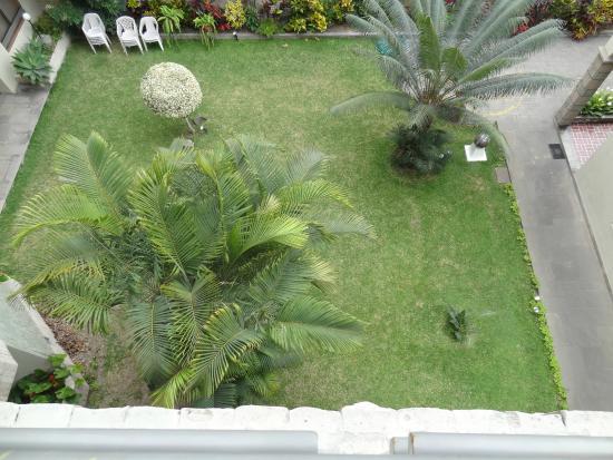 Grand Hotel Betsy: Vista do Jardim interno
