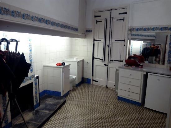 Casa Cundaro: Antigua cocina, ahora cuarto de baño