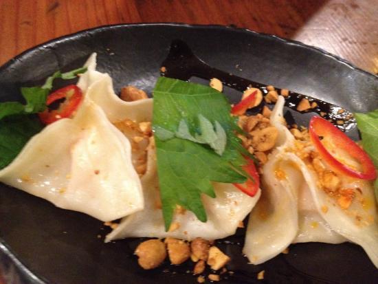 Lobster dumplings