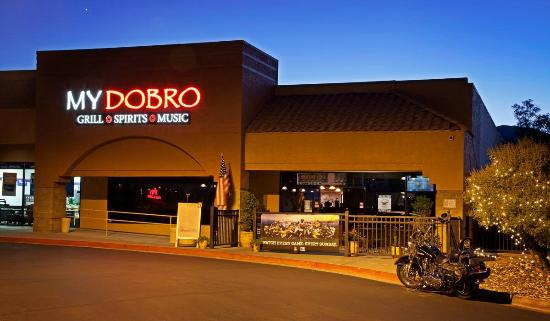 My Dobro: Great Food, Sports on 9 TVs and Live Music!