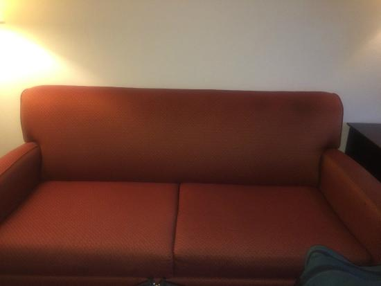 Red Lion Inn and Suites Eugene: Couch with hide a bed