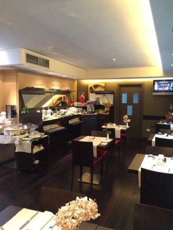 Villa dei Platani Boutique Hotel & Spa: Sala colazioni