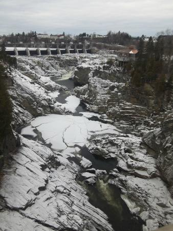 Grand Falls Gorge: The falls, dam and gorge
