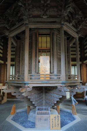 長谷寺, 経蔵内部