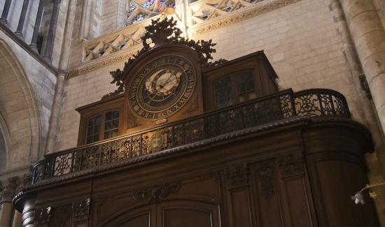 Saint-Omer Cathedral : interesting clock