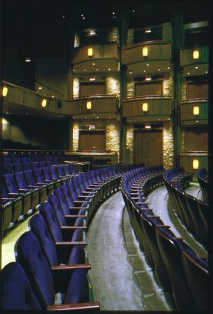 Goodman Theatre: Interior of the Albert Theatre