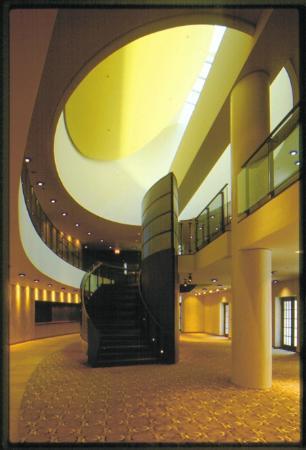 Goodman Theatre: Interior lobby of the Goodman