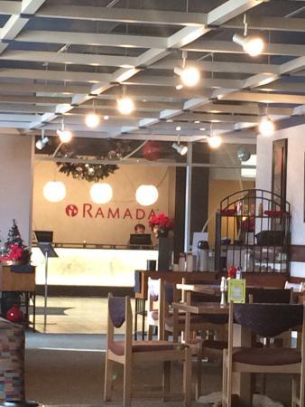 Ramada Saskatoon: View from restaurant.
