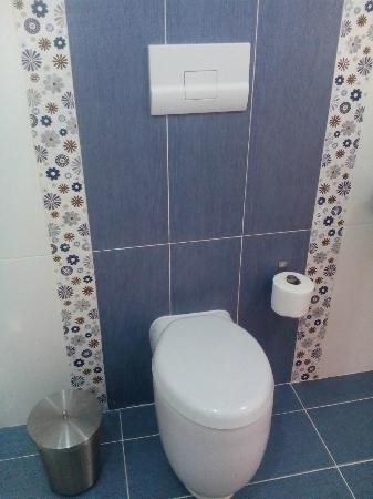 Hotel el Quemaito : Toilet