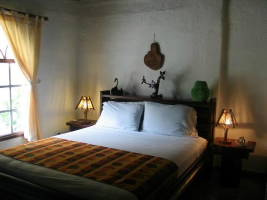 Habitaciones decoradas con artesanias ecuatorianas fotografa de