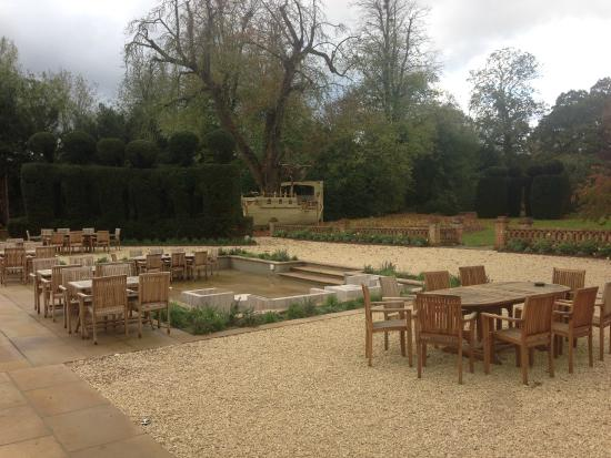 The Oaksmere : The Front Garden And Seating Area