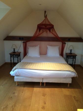 Hotel et Spa Le Lion d'Or: Chambre duplex