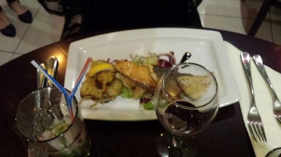 Zane Wine Bar and Bistro: Trio of fish