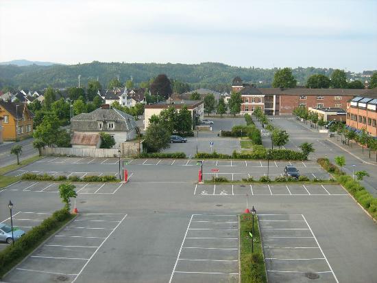 Comfort Hotel Ringerike: Вид из окна
