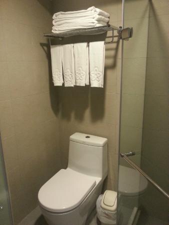 King Shi Hotel: clean