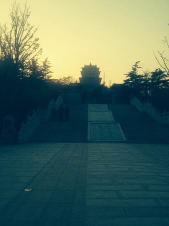 Weihai Huancui Tower Park: 环翠楼