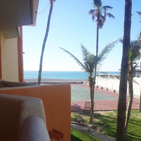 Posada Real Los Cabos: Room view on outside rooms