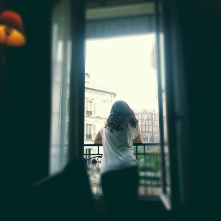 Hotel Charlemagne: Desde la ventana