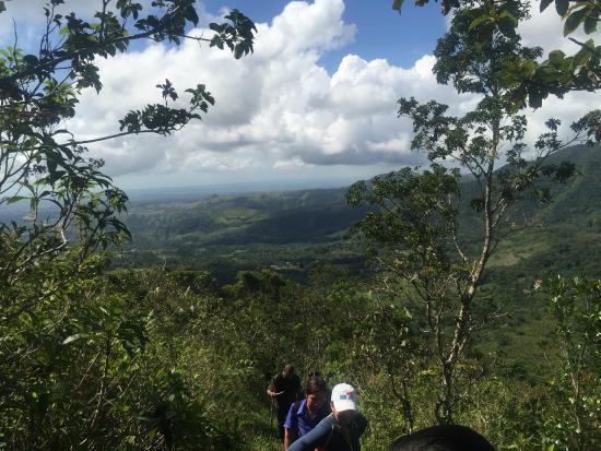 Laguna de San Carlos: More views while climbing picacho