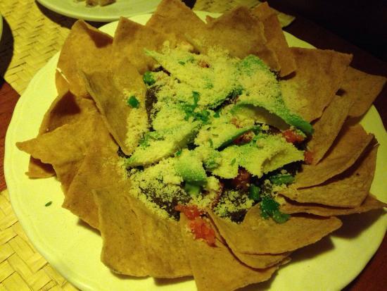Restaurante La Luna : Nachos for 40q