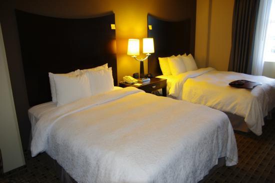 Hampton Inn & Suites Montgomery-Downtown: 2 Queen beds