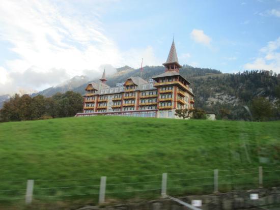 Jugendstilhotel Hotel Paxmontana : Arriving at the hotel