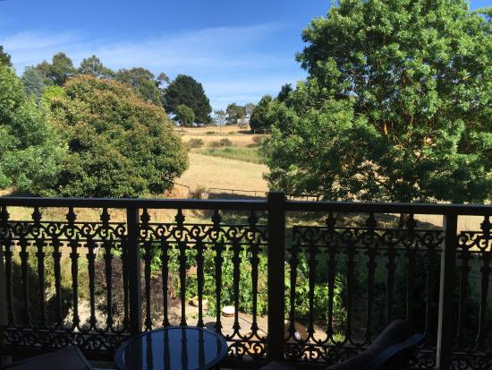 Amble at Hahndorf: Back balcony