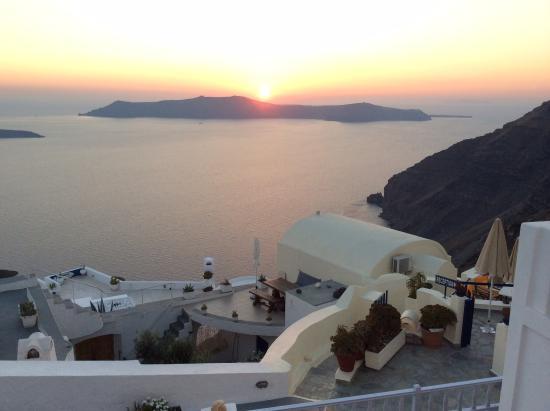 Santorini View: Coucher de soleil MAGIQUE!