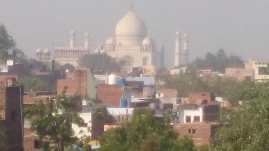 ITC Mughal, Agra: widok na taj mahal