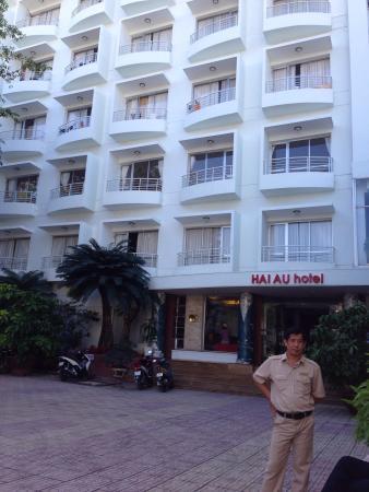 Hai Au Hotel: ホテルの外観