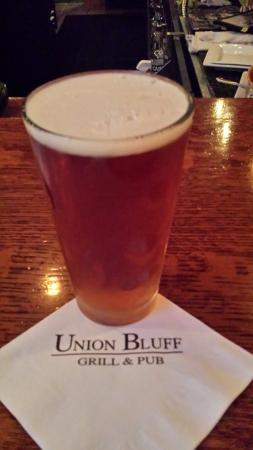The Union Grill and Pub : Great beer -excellent dinner.