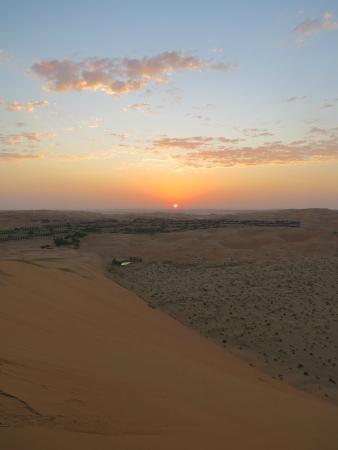 Hamim, Vereinigte Arabische Emirate: Sunrise from the Dune
