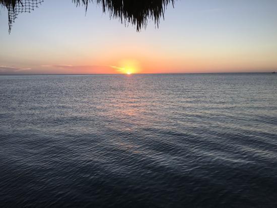 Xbalanque Resort: Paradise sunset
