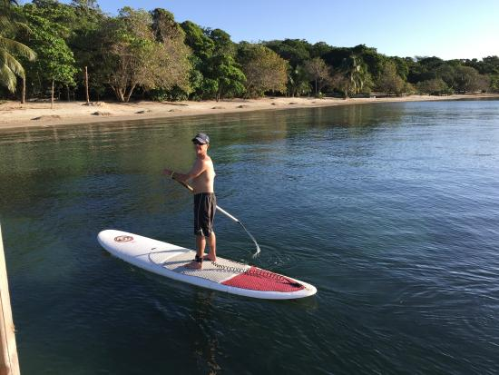 Xbalanque Resort: A little paddle board