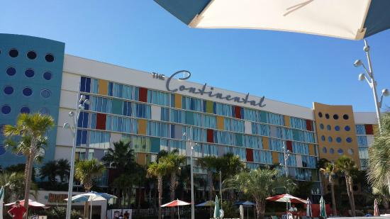 Universal S Cabana Bay Beach Resort Continental Building