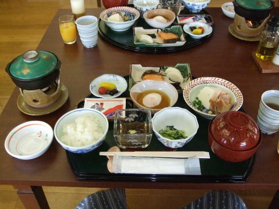 Ganjima Besso: 朝食も満足できる内容でした。