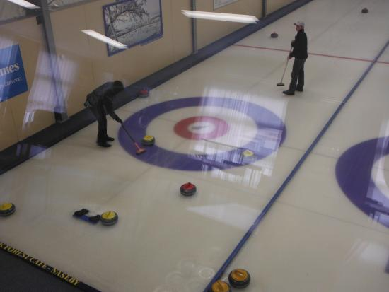 Indoor Curling Rink: Indoor curling
